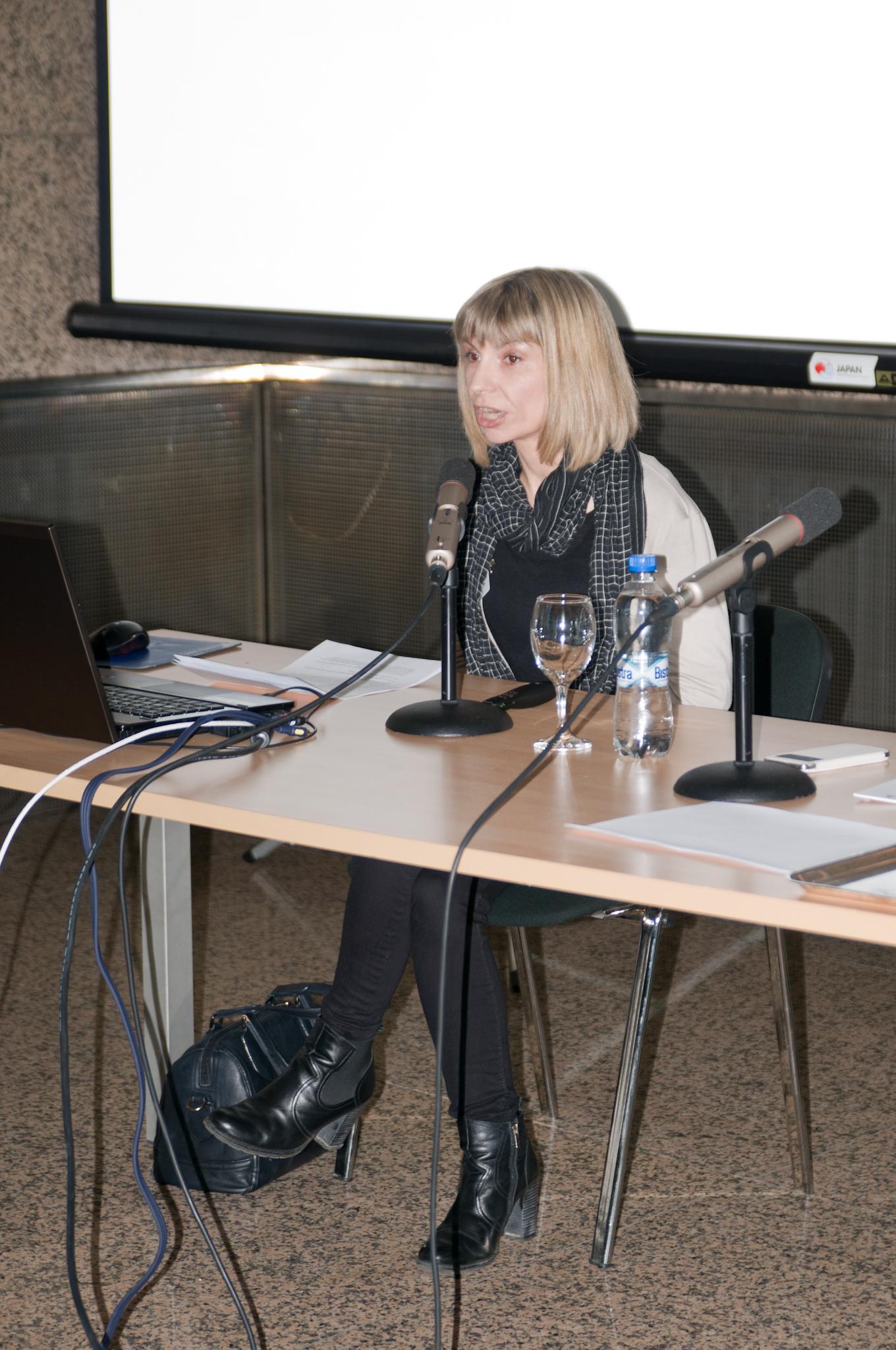 Koraljka Kuzman Šlogar (Institut za etnologiju i folkloristiku): DARIAH-ERIC: središte europske digitalne humanistike i umjetnosti