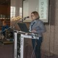 Tatijana Petrić, glavna ravnateljica Nacionalne i sveučilišne knjižnice u Zagrebu, predsjednica Programskog odbora